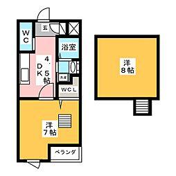 グランA[2階]の間取り