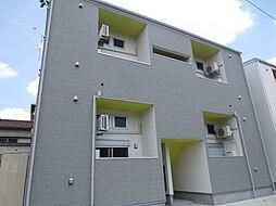愛知県名古屋市港区港栄3の賃貸アパートの外観