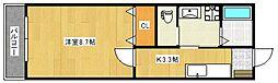 パークマンション諏訪[103号室号室]の間取り