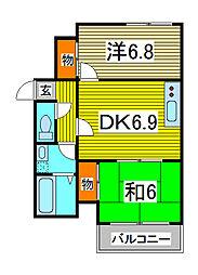 メゾン・ド・アストラ[2階]の間取り