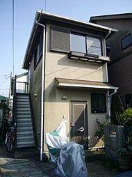 東京都調布市菊野台1の賃貸アパートの外観