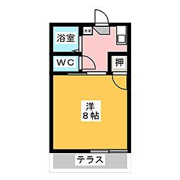 エレガンスハイツ神田 II[1階]の間取り