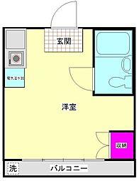 メゾンハナシマ[3階]の間取り