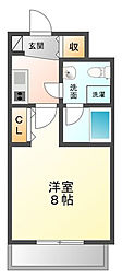 セレニテ甲子園[3階]の間取り