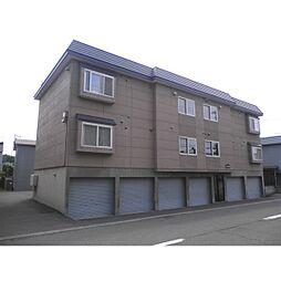 北海道札幌市清田区清田六条3丁目の賃貸アパートの外観