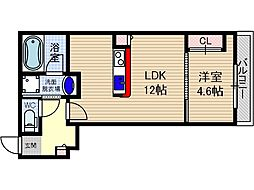 仮称)山崎マンション元町[1階]の間取り
