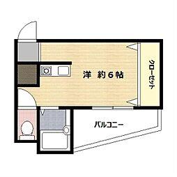 神奈川県川崎市多摩区菅1丁目の賃貸マンションの間取り