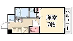 Enuz45[203号室]の間取り