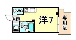 ミニストア尼崎駅前[102号室号室]の間取り