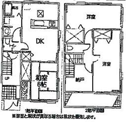 [一戸建] 香川県高松市林町 の賃貸【/】の間取り