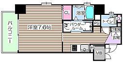 プリエ梅田[8階]の間取り