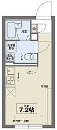ココフラットイタバシ[1階]の間取り