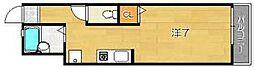 ウエストサイドコート[1階]の間取り