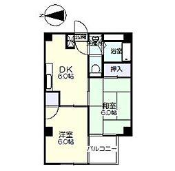 保戸田マンション[3階]の間取り