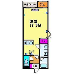 PLAZA新園町[3階]の間取り