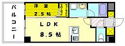 新宮ステーションビル[5階]の間取り