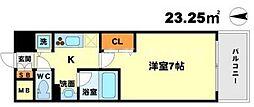 アーデン江坂[3階]の間取り