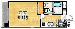 アルファープライズ5[306号室号室]の間取り