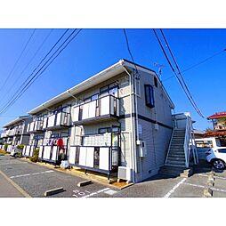 長野県千曲市大字雨宮の賃貸アパートの外観