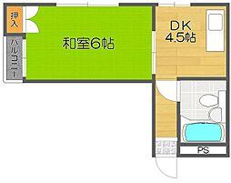ローレルハイツ岡本[8階]の間取り