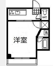 シティハウス京塚[507号室]の間取り