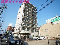 三重県津市新町1丁目の賃貸マンションの外観