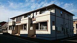 群馬県高崎市浜尻町の賃貸アパートの外観