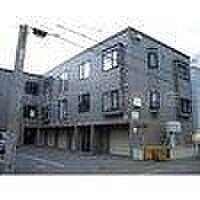 北海道札幌市豊平区平岸二条6丁目の賃貸アパートの外観