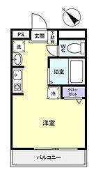 ビレッジハウス八千代台南[3階]の間取り