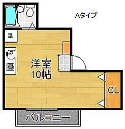 泉佐野HIRANO[3階]の間取り