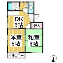メゾン・ド・やま S棟[1階]の間取り