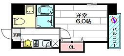 ラグゼ広芝[3階]の間取り