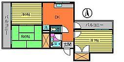 ホーエイハイム[2階]の間取り