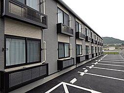 岡山県笠岡市入江の賃貸アパートの外観