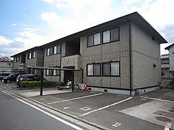 愛媛県松山市南梅本町の賃貸アパートの外観