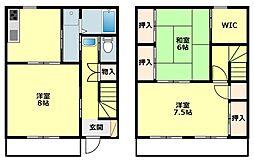 [タウンハウス] 愛知県岡崎市西蔵前町字峠 の賃貸【愛知県 / 岡崎市】の間取り