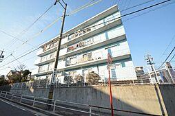 愛知県名古屋市名東区亀の井2丁目の賃貸アパートの外観