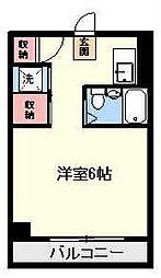 プラムフィールド[4階]の間取り