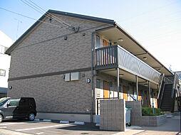 京都府京都市山科区勧修寺平田町の賃貸アパートの外観