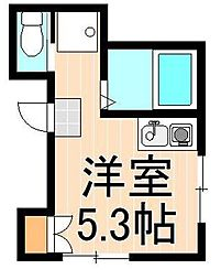 あけぼのハウス[202号室]の間取り