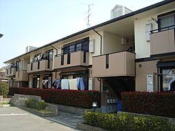 大阪府羽曳野市東阪田の賃貸アパートの外観