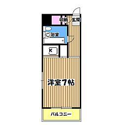 第11宮田ビル[2階]の間取り