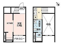 REFINED TASTE 小塚[1階]の間取り