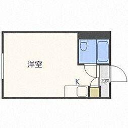 シャンボール札幌[3階]の間取り