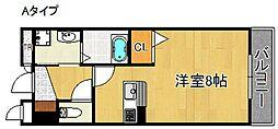 ブルック[2階]の間取り