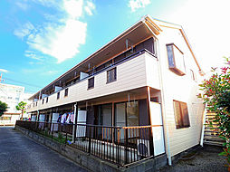 埼玉県所沢市南住吉の賃貸アパートの外観