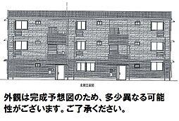 D-room可部3丁目B棟[102号室]の外観