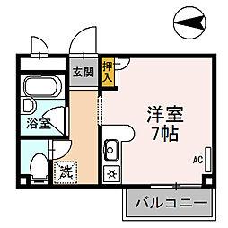 ソフィビル[3階]の間取り