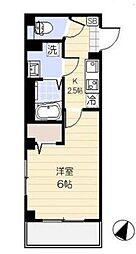 埼玉県さいたま市大宮区東町2丁目の賃貸マンションの間取り