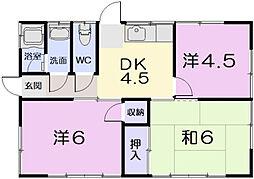 [一戸建] 三重県松阪市荒木町 の賃貸【三重県 / 松阪市】の間取り